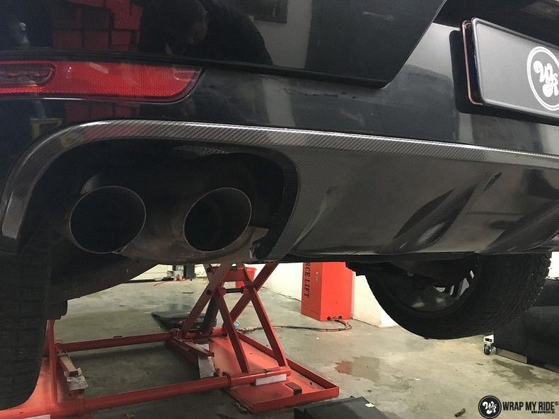 Porsche Macan Carbon accenten, Carwrapping door Wrapmyride.nu Foto-nr:10827, ©2019