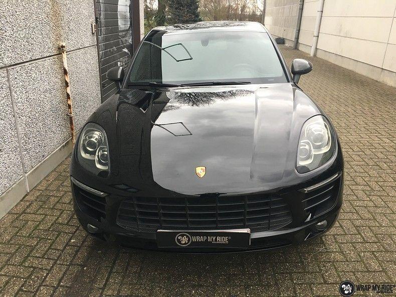 Porsche Macan Carbon accenten, Carwrapping door Wrapmyride.nu Foto-nr:10815, ©2019