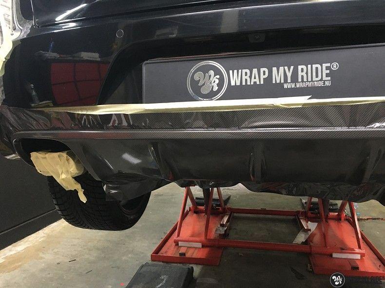 Porsche Macan Carbon accenten, Carwrapping door Wrapmyride.nu Foto-nr:10832, ©2020