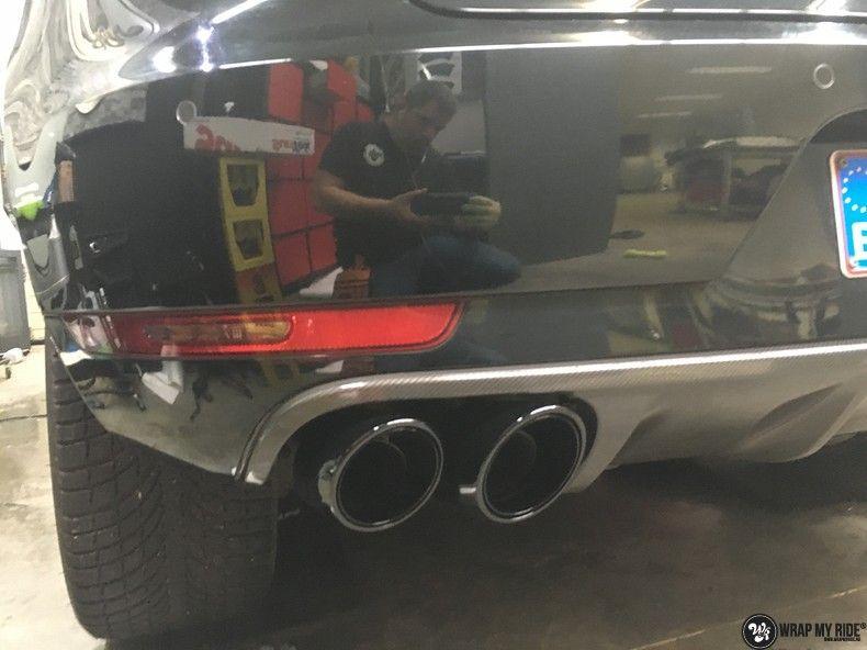 Porsche Macan Carbon accenten, Carwrapping door Wrapmyride.nu Foto-nr:10825, ©2021