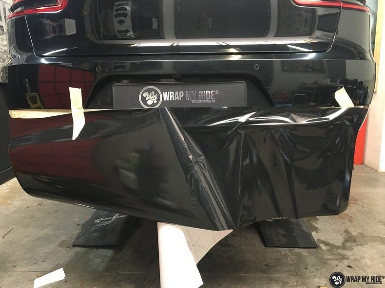 Porsche Macan Carbon accenten, Carwrapping door Wrapmyride.nu Foto-nr:10836, ©2021