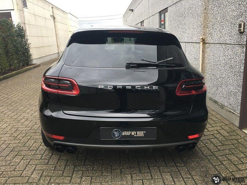 Porsche Macan carbon accenten, Carwrapping door Wrapmyride.nu Foto-nr:10657, ©2020