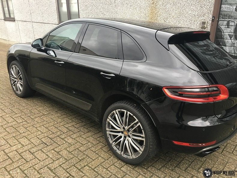 Porsche Macan carbon accenten, Carwrapping door Wrapmyride.nu Foto-nr:10667, ©2021