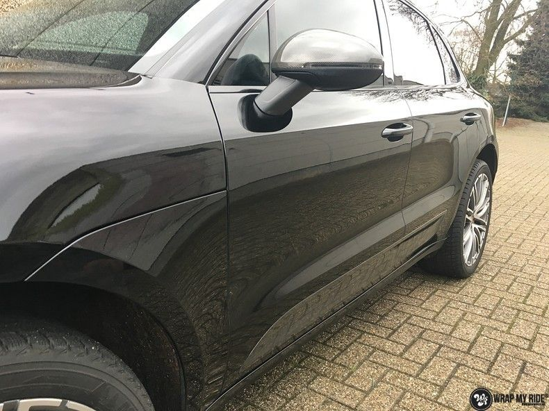 Porsche Macan carbon accenten, Carwrapping door Wrapmyride.nu Foto-nr:10666, ©2021