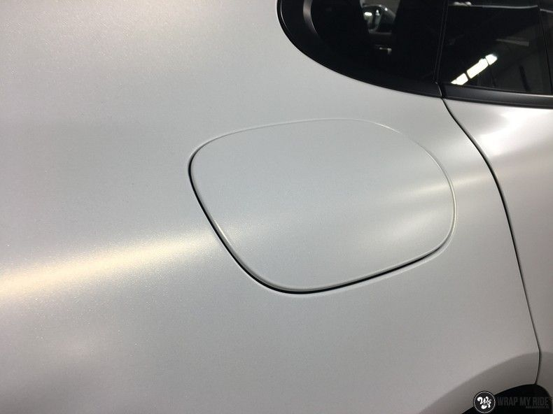 Porsche Panamera 4S Satin Frozen Vanilla, Carwrapping door Wrapmyride.nu Foto-nr:10546, ©2018