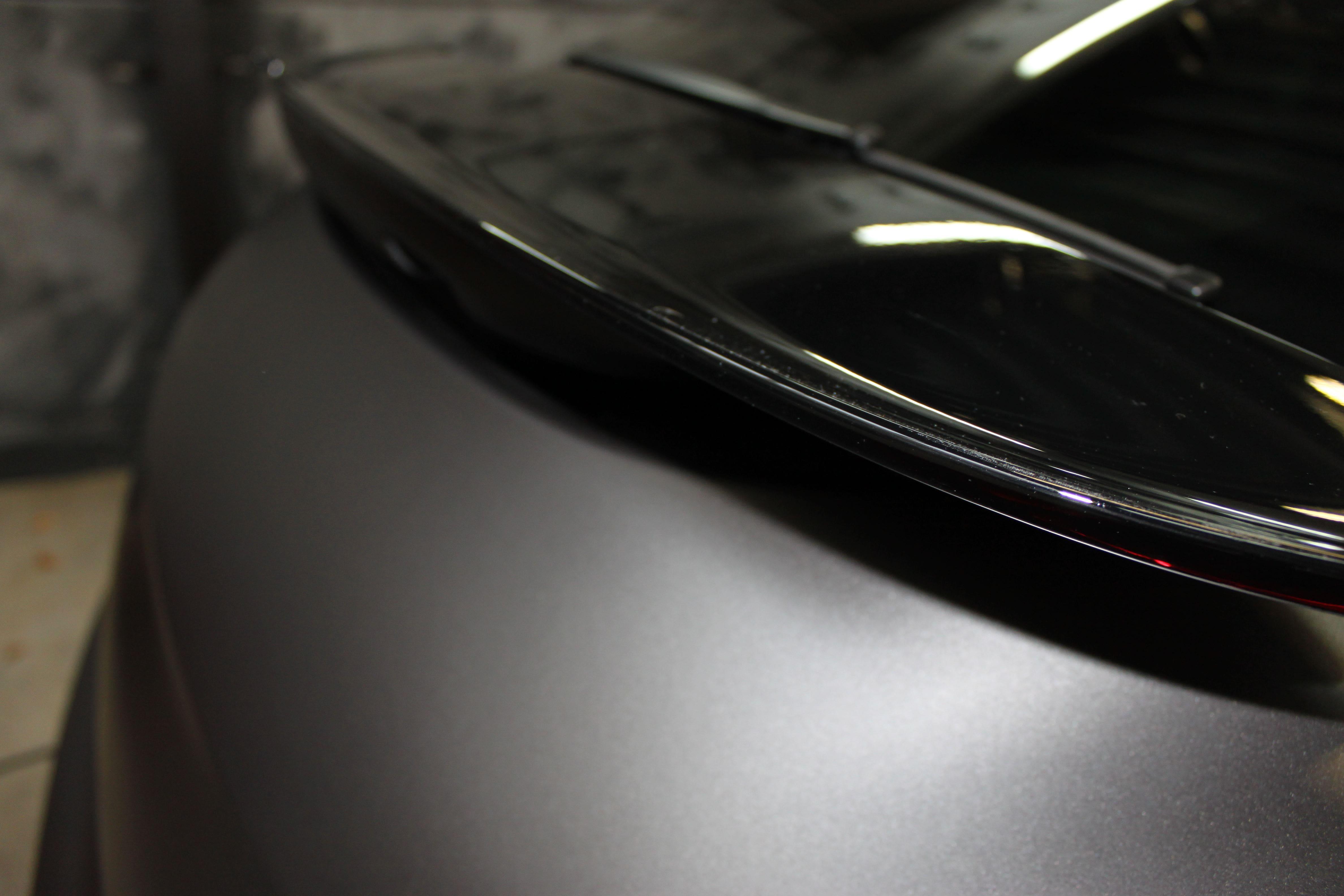 Porsche Panamera GTS Full Wrap in Gunpowder, Carwrapping door Wrapmyride.nu Foto-nr:7115, ©2021