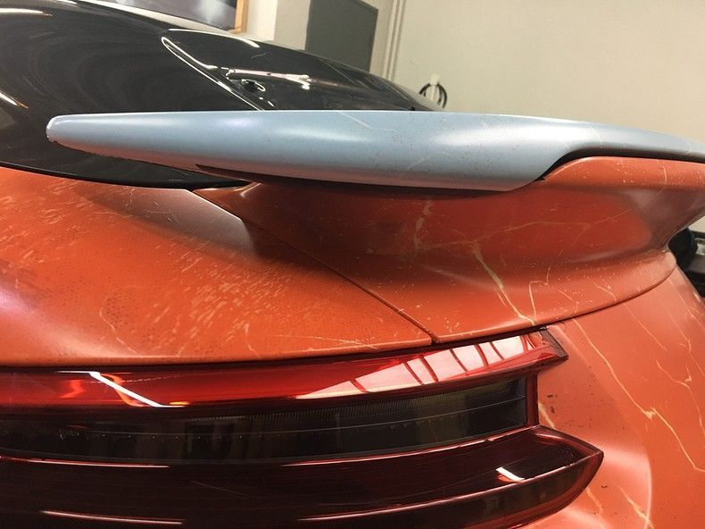 Porsche turbo S gulf weathered Livery, Carwrapping door Wrapmyride.nu Foto-nr:12088, ©2019