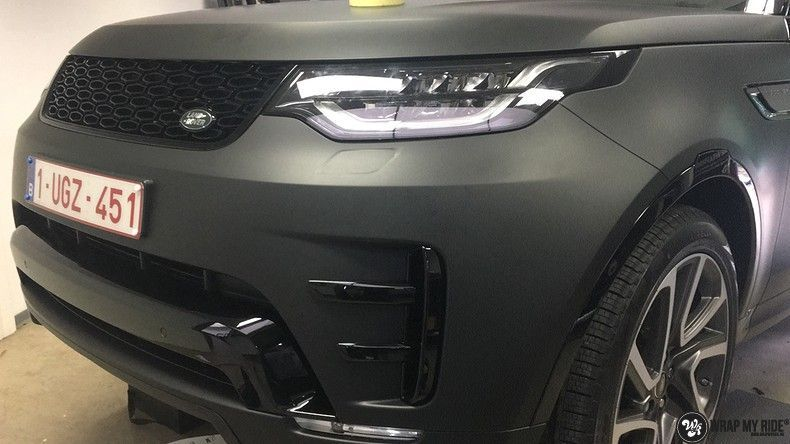 Range Rover Discovery 2018 Osaka, Carwrapping door Wrapmyride.nu Foto-nr:11448, ©2018