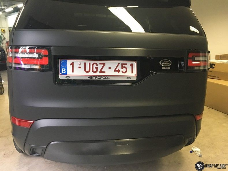 Range Rover Discovery 2018 Osaka, Carwrapping door Wrapmyride.nu Foto-nr:11413, ©2018