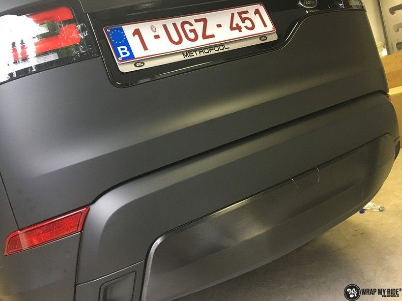 Range Rover Discovery 2018 Osaka, Carwrapping door Wrapmyride.nu Foto-nr:11417, ©2018
