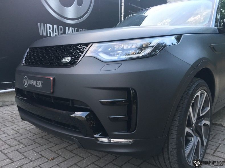 Range Rover Discovery 2018 Osaka, Carwrapping door Wrapmyride.nu Foto-nr:11434, ©2018