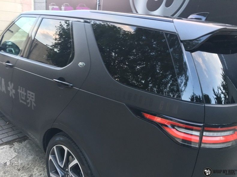 Range Rover Discovery 2018 Osaka, Carwrapping door Wrapmyride.nu Foto-nr:11423, ©2018