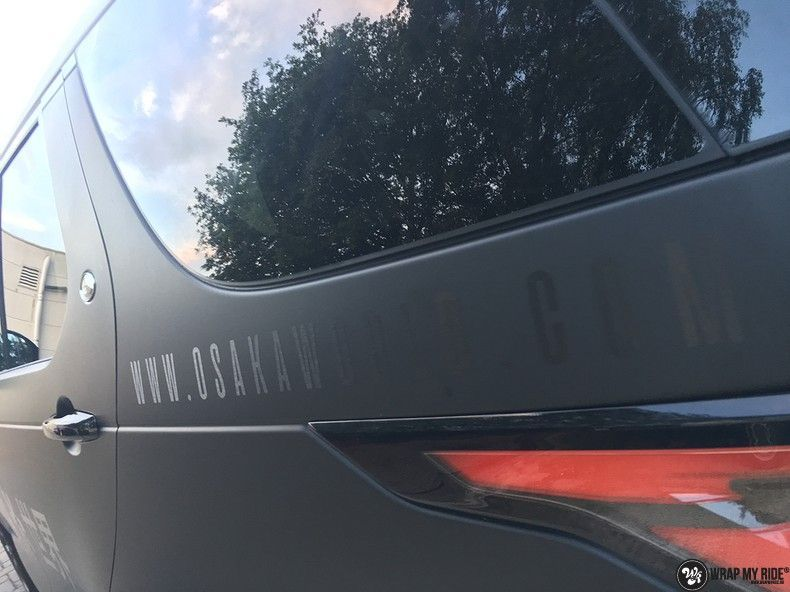 Range Rover Discovery 2018 Osaka, Carwrapping door Wrapmyride.nu Foto-nr:11426, ©2021