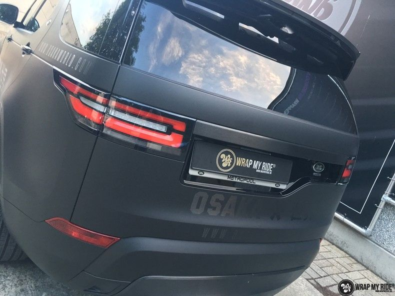 Range Rover Discovery 2018 Osaka, Carwrapping door Wrapmyride.nu Foto-nr:11424, ©2018