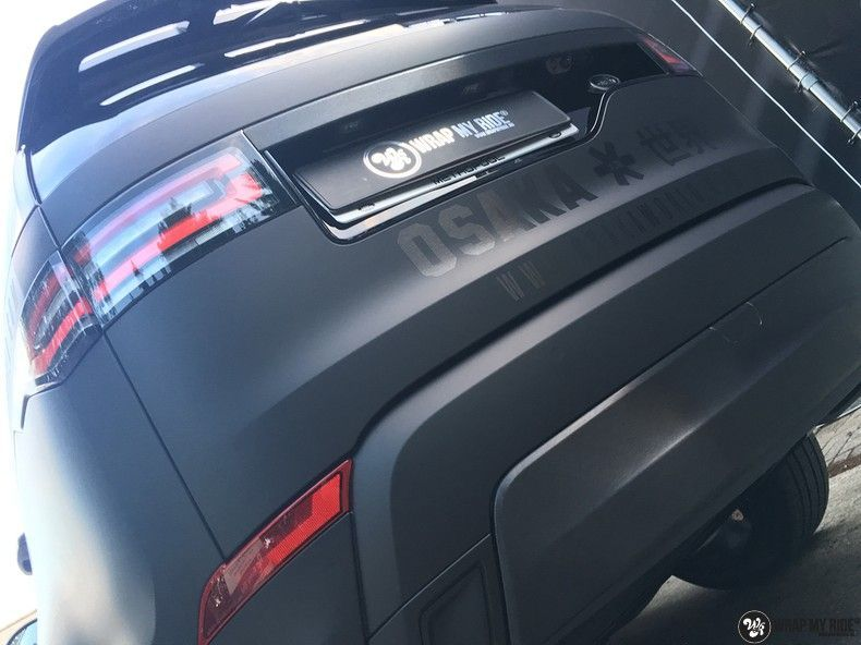 Range Rover Discovery 2018 Osaka, Carwrapping door Wrapmyride.nu Foto-nr:11420, ©2021