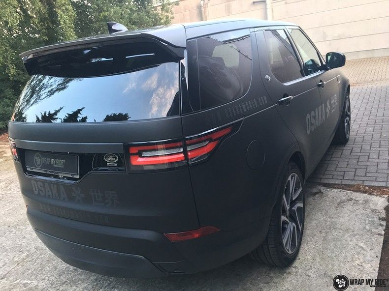 Range Rover Discovery 2018 Osaka, Carwrapping door Wrapmyride.nu Foto-nr:11421, ©2019