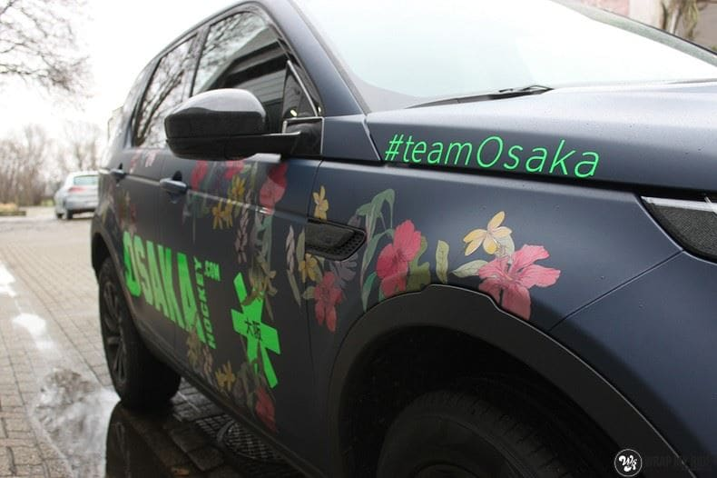 Range Rover Discovery Flower, Carwrapping door Wrapmyride.nu Foto-nr:8777, ©2021