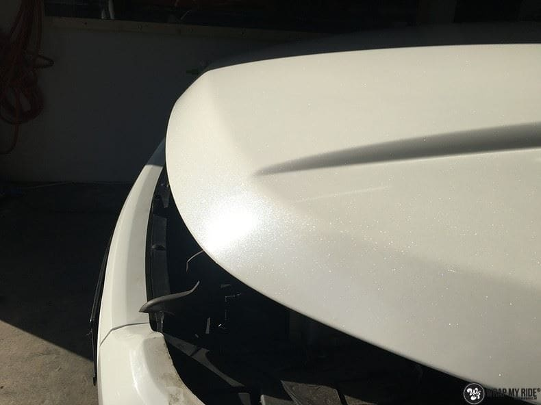 Range Rover Evoque Avery White Diamond, Carwrapping door Wrapmyride.nu Foto-nr:9831, ©2018