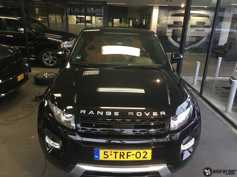 Range Rover Evoque Satin Dark Grey, Carwrapping door Wrapmyride.nu Foto-nr:11009, ©2020