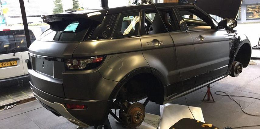 Range Rover Evoque Satin Dark Grey