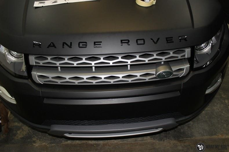 Range Rover Evoque, Carwrapping door Wrapmyride.nu Foto-nr:8432, ©2020