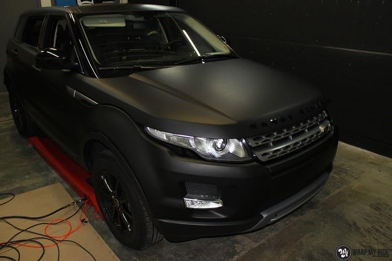 Range Rover Evoque, Carwrapping door Wrapmyride.nu Foto-nr:8435, ©2021