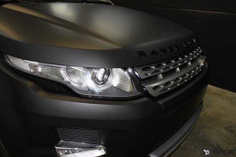 Range Rover Evoque, Carwrapping door Wrapmyride.nu Foto-nr:8437, ©2020