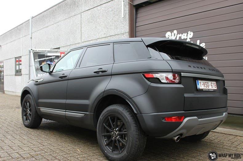 Range Rover Evoque, Carwrapping door Wrapmyride.nu Foto-nr:8448, ©2021