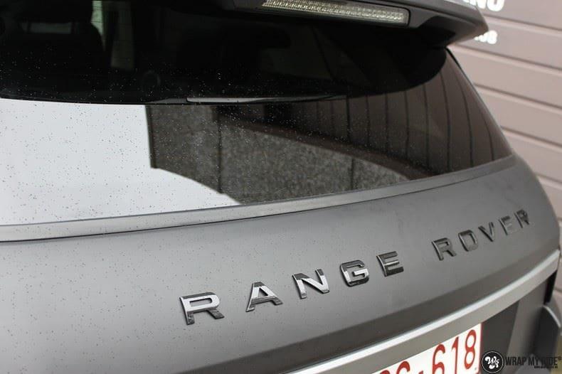 Range Rover Evoque, Carwrapping door Wrapmyride.nu Foto-nr:8449, ©2020