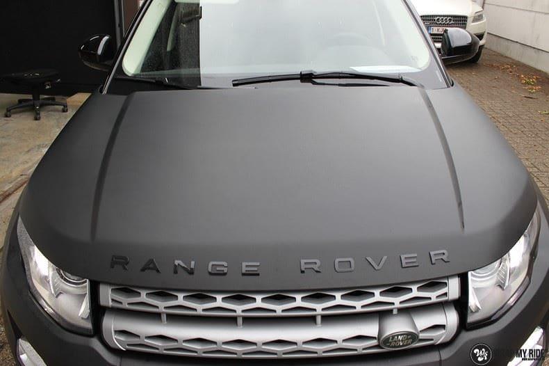 Range Rover Evoque, Carwrapping door Wrapmyride.nu Foto-nr:8455, ©2021