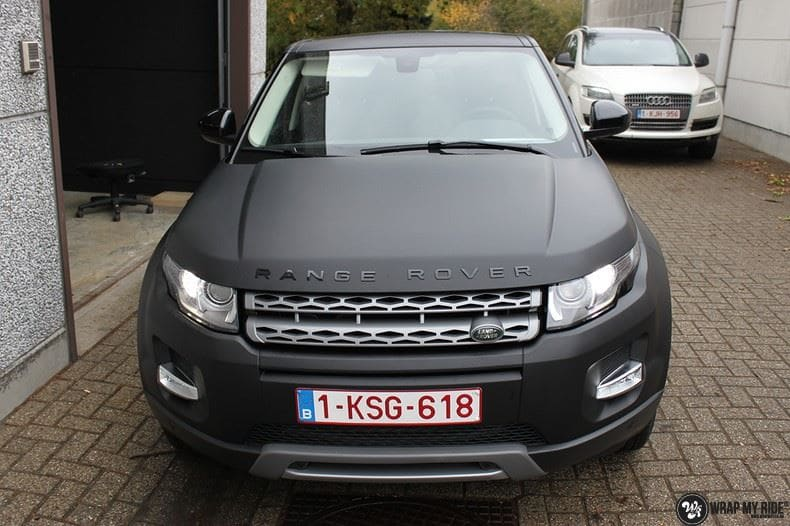 Range Rover Evoque, Carwrapping door Wrapmyride.nu Foto-nr:8456, ©2021