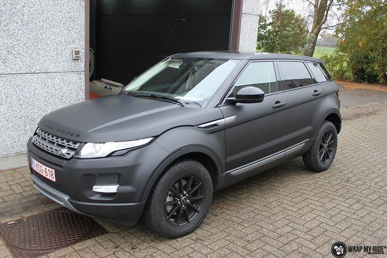 Range Rover Evoque, Carwrapping door Wrapmyride.nu Foto-nr:8457, ©2021