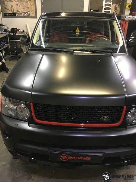 Range Rover Sport Autobiography Satin Black, Carwrapping door Wrapmyride.nu Foto-nr:10492, ©2018