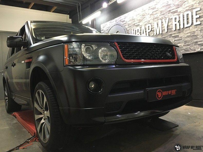 Range Rover Sport Autobiography Satin Black, Carwrapping door Wrapmyride.nu Foto-nr:10501, ©2018
