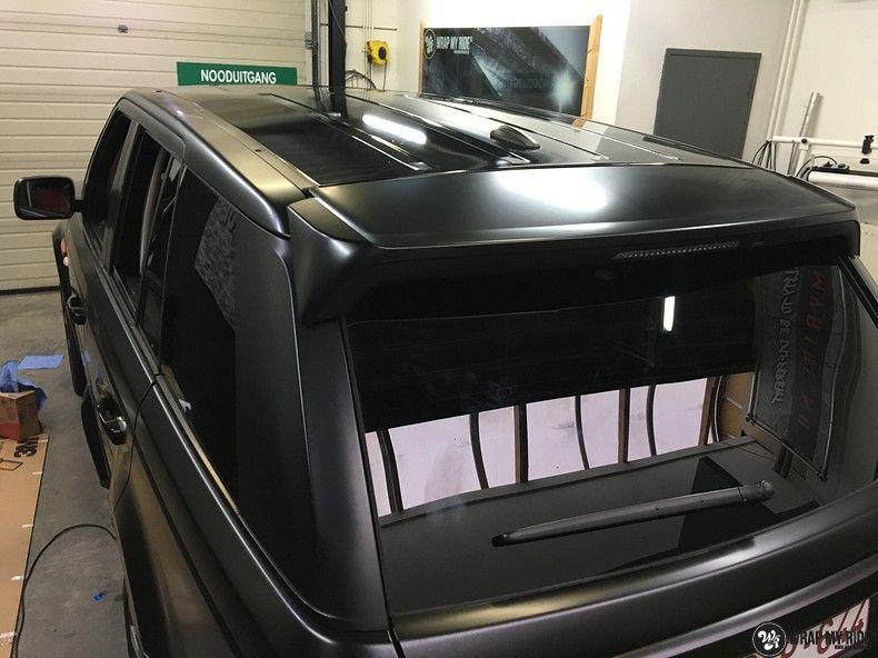 Range Rover Sport Autobiography Satin Black, Carwrapping door Wrapmyride.nu Foto-nr:10510, ©2018