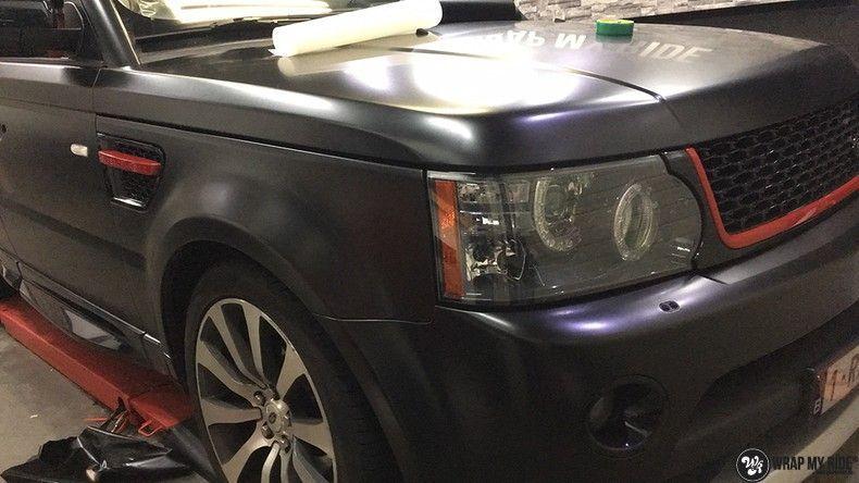 Range Rover Sport Autobiography Satin Black, Carwrapping door Wrapmyride.nu Foto-nr:10515, ©2018