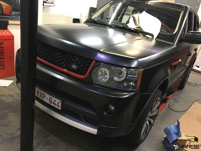 Range Rover Sport Autobiography Satin Black, Carwrapping door Wrapmyride.nu Foto-nr:10508, ©2021