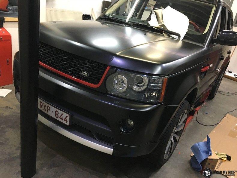 Range Rover Sport Autobiography Satin Black, Carwrapping door Wrapmyride.nu Foto-nr:10509, ©2021