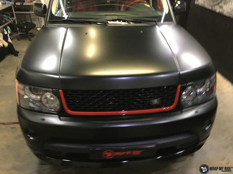Range Rover Sport Autobiography Satin Black, Carwrapping door Wrapmyride.nu Foto-nr:10493, ©2018