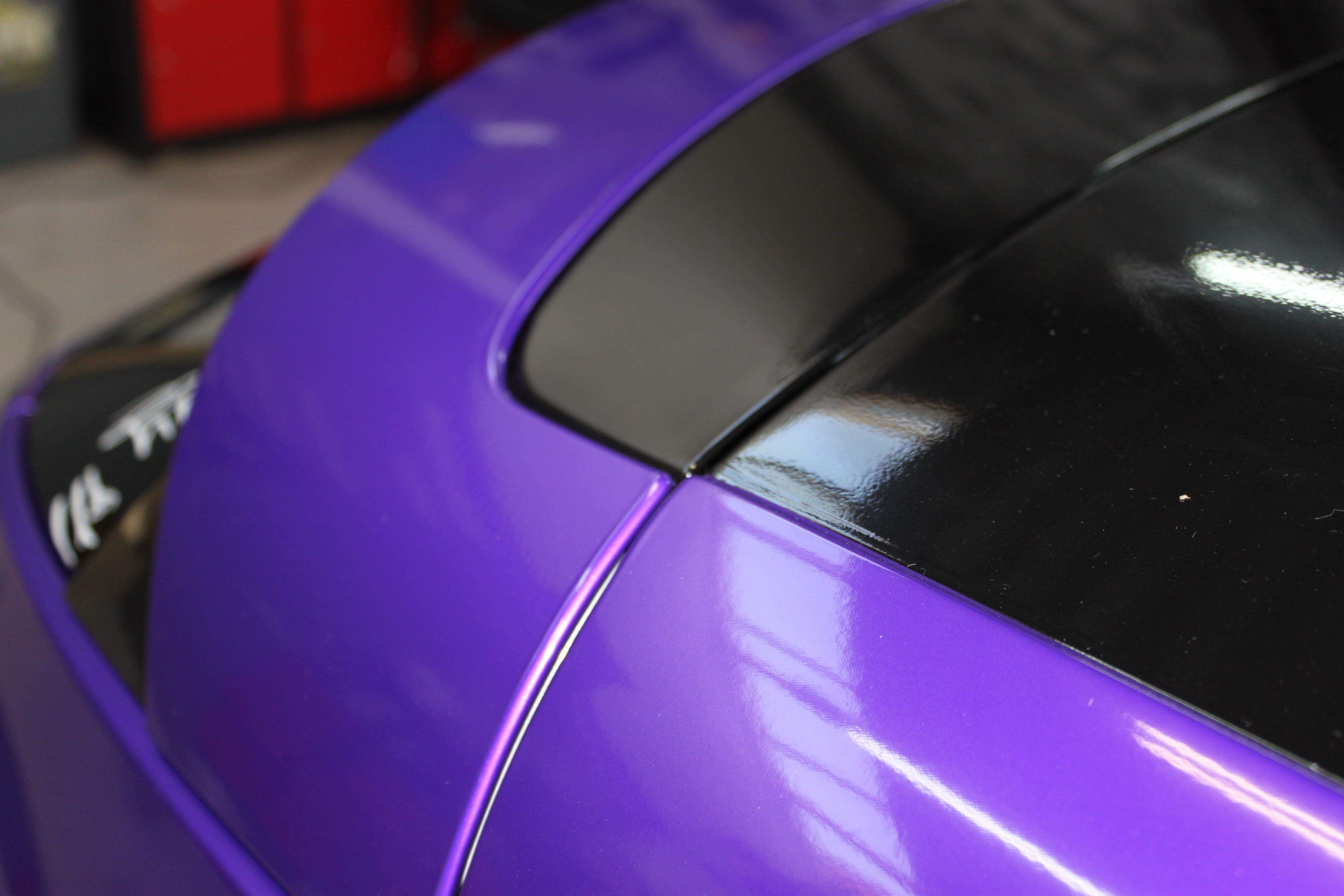 Renault Megane Bose met Amethyst Wrap in Paars, Carwrapping door Wrapmyride.nu Foto-nr:7061, ©2021