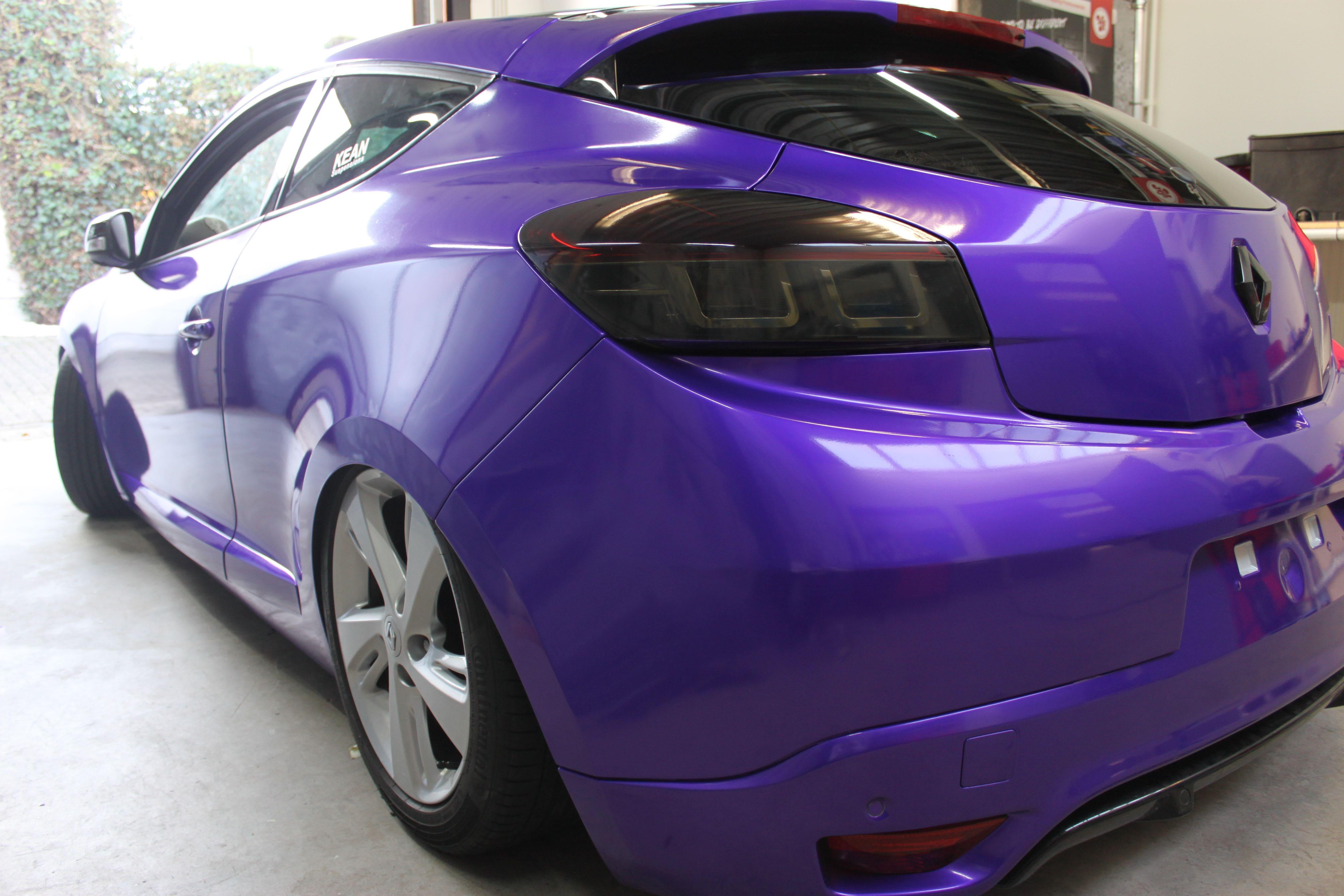 Renault Megane Bose met Amethyst Wrap in Paars, Carwrapping door Wrapmyride.nu Foto-nr:7063, ©2020