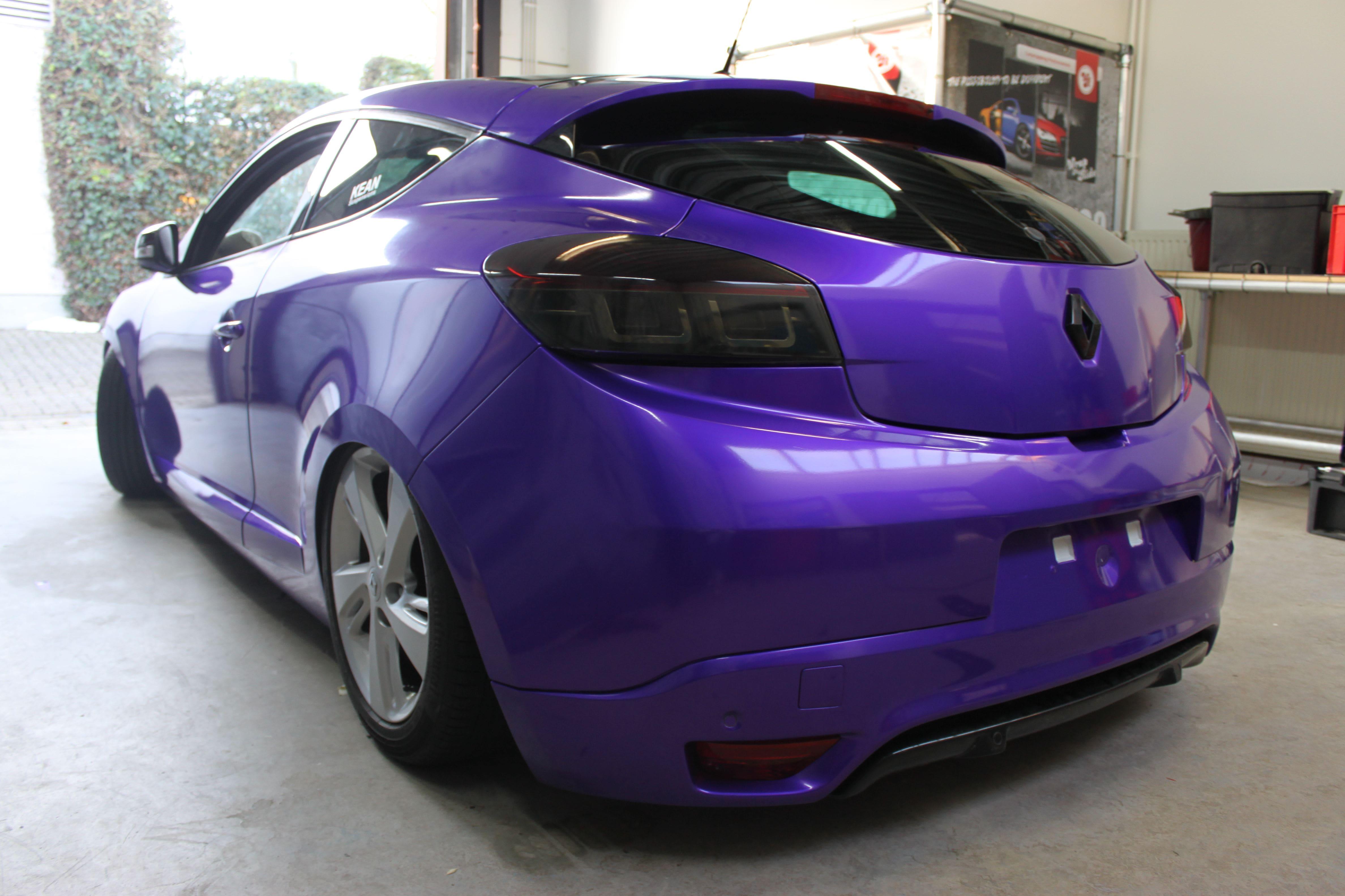 Renault Megane Bose met Amethyst Wrap in Paars, Carwrapping door Wrapmyride.nu Foto-nr:7065, ©2020