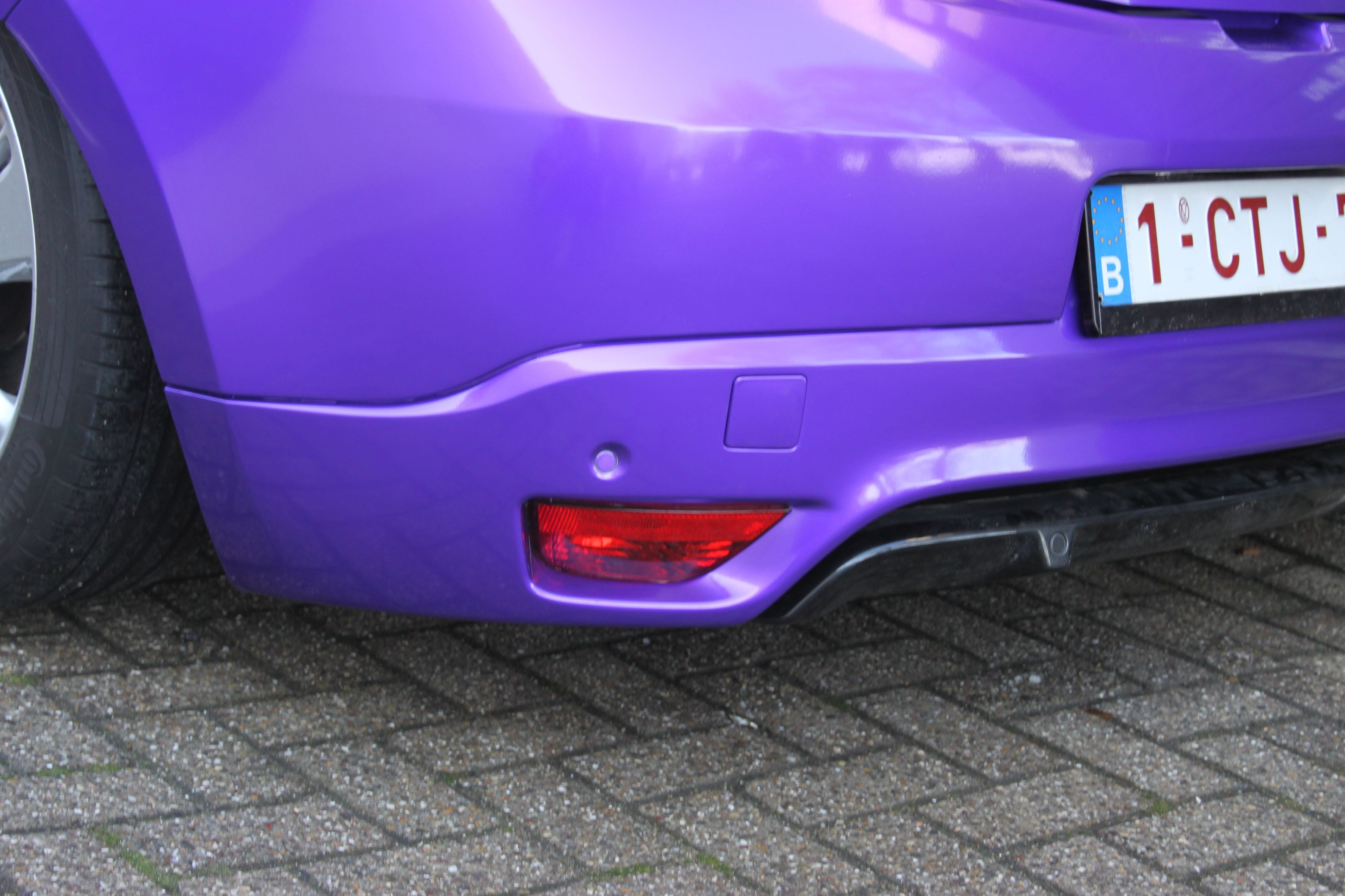 Renault Megane Bose met Amethyst Wrap in Paars, Carwrapping door Wrapmyride.nu Foto-nr:7073, ©2021