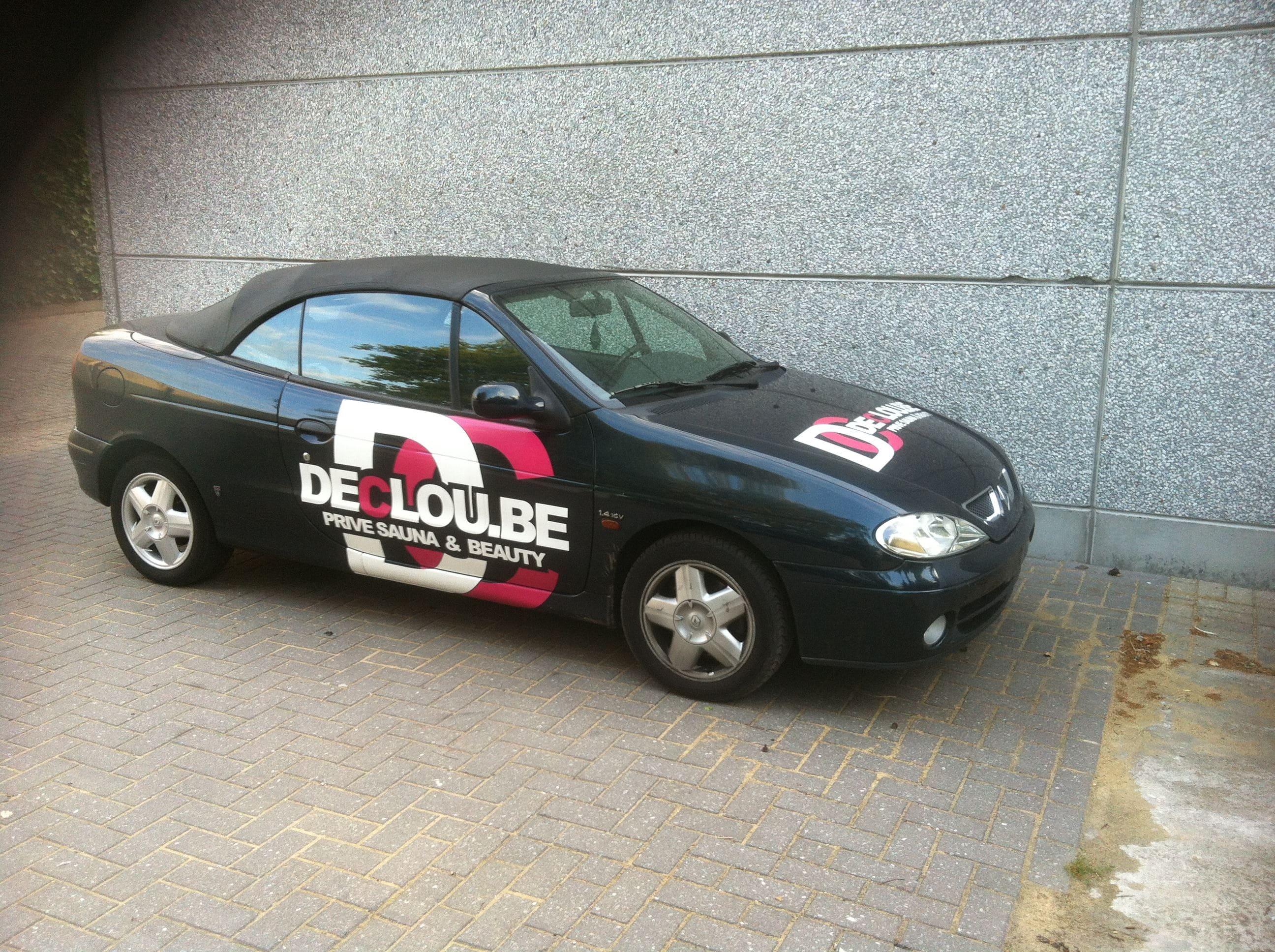 Renault Megane met de Clou Wrap, Carwrapping door Wrapmyride.nu Foto-nr:7162, ©2021