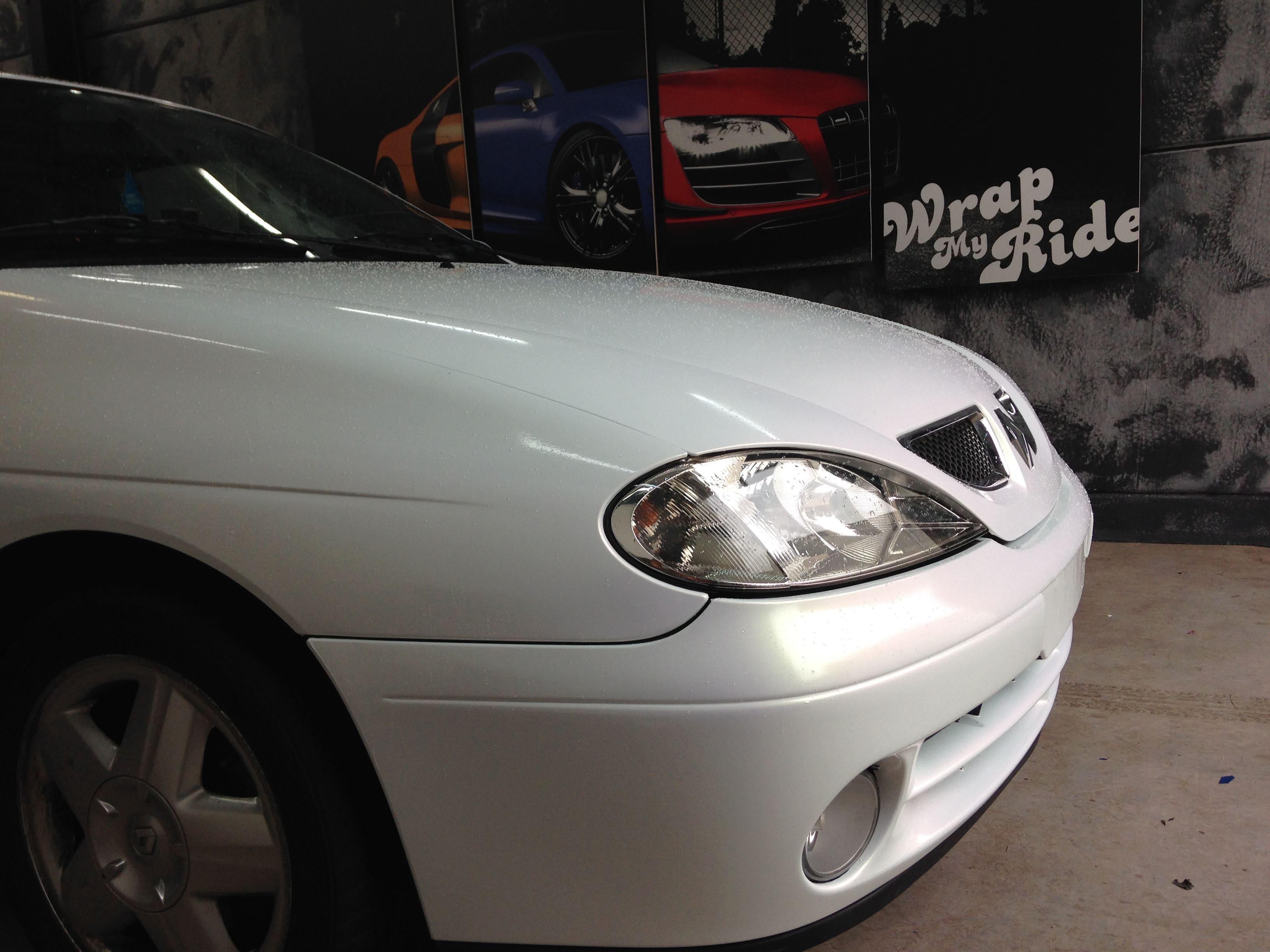 Renault Megane met de Clou Wrap, Carwrapping door Wrapmyride.nu Foto-nr:7164, ©2021