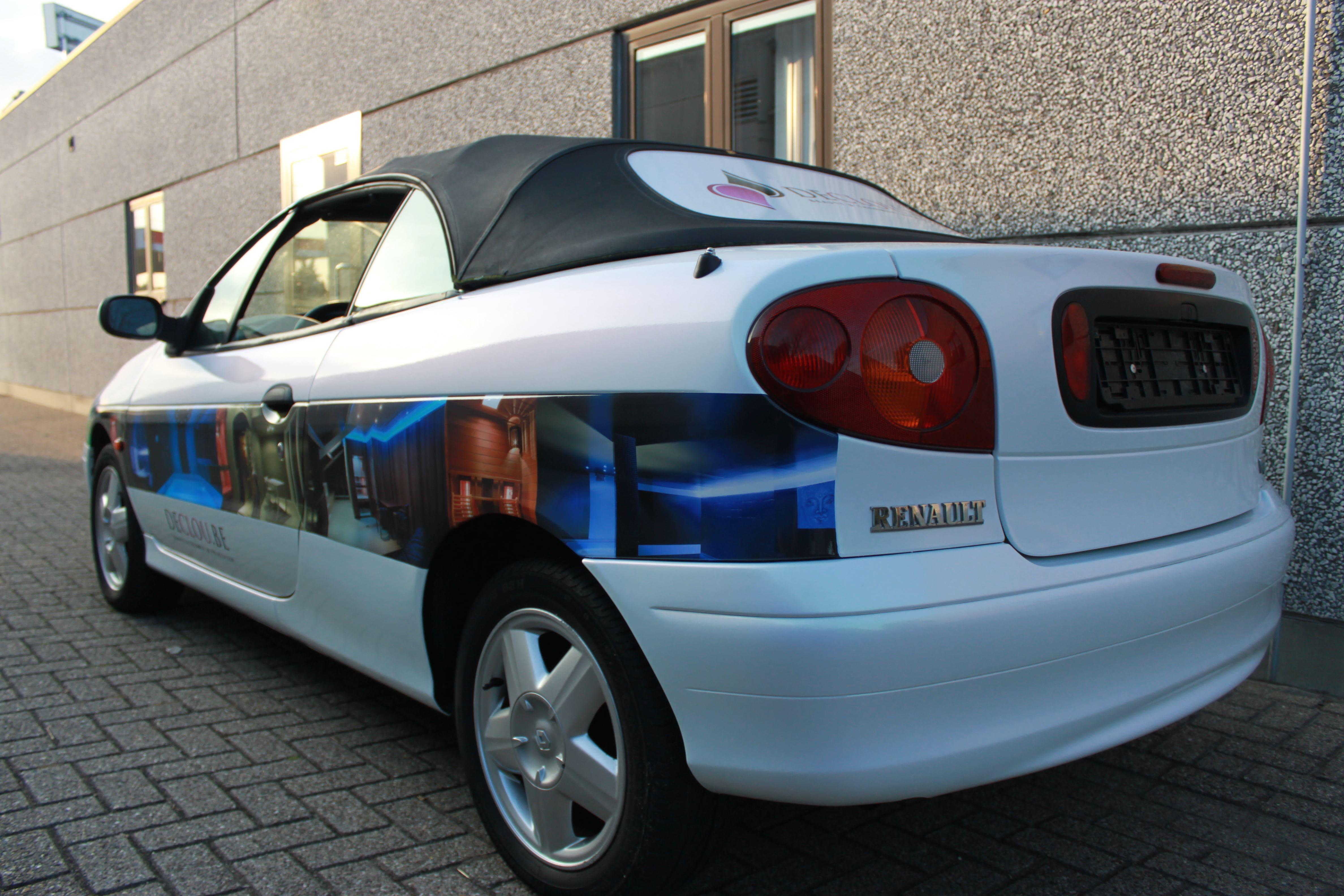 Renault Megane met de Clou Wrap, Carwrapping door Wrapmyride.nu Foto-nr:7168, ©2021