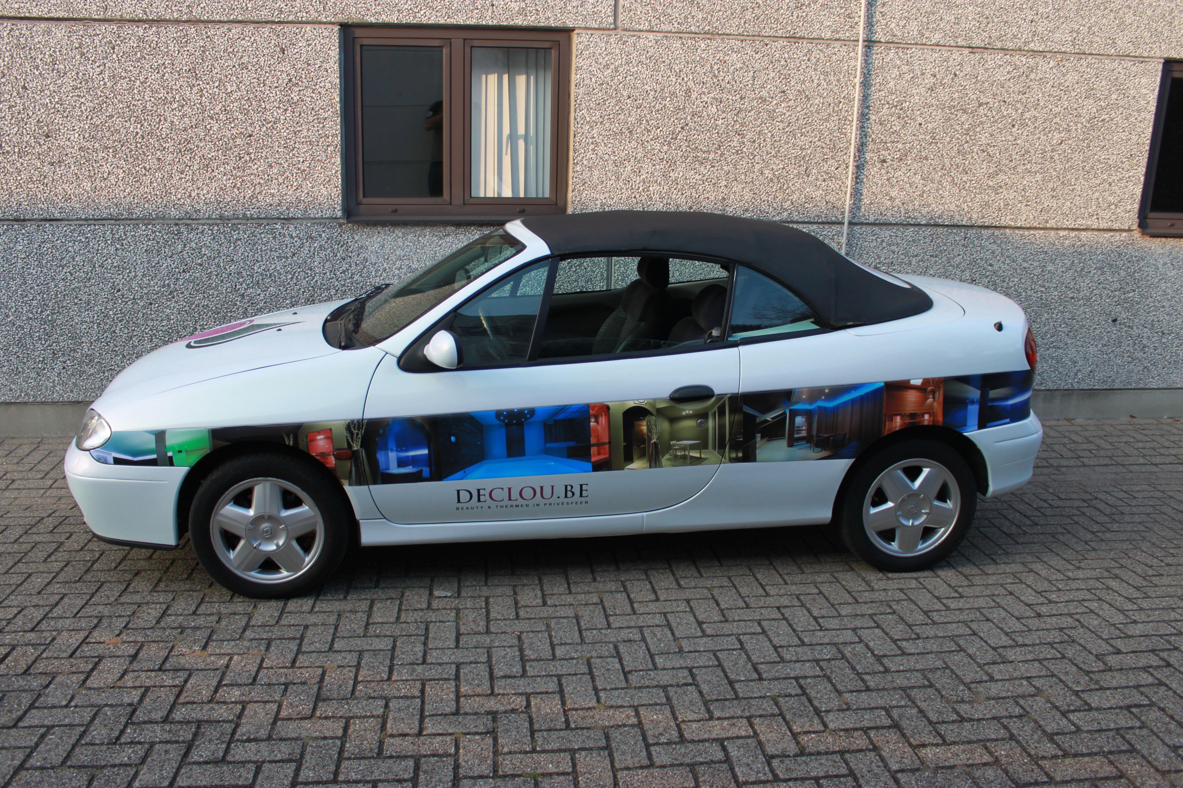 Renault Megane met de Clou Wrap, Carwrapping door Wrapmyride.nu Foto-nr:7169, ©2021