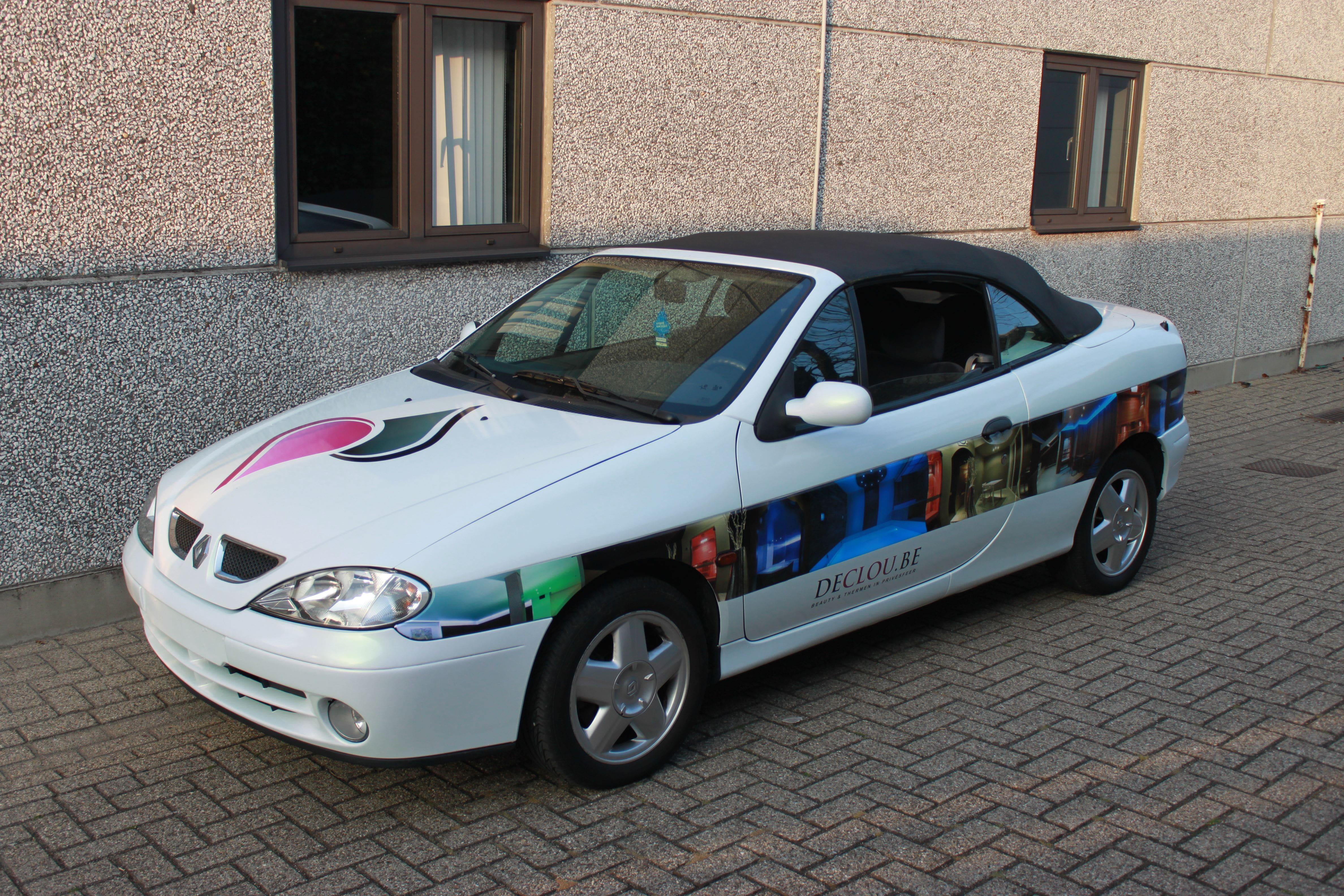 Renault Megane met de Clou Wrap, Carwrapping door Wrapmyride.nu Foto-nr:7170, ©2021
