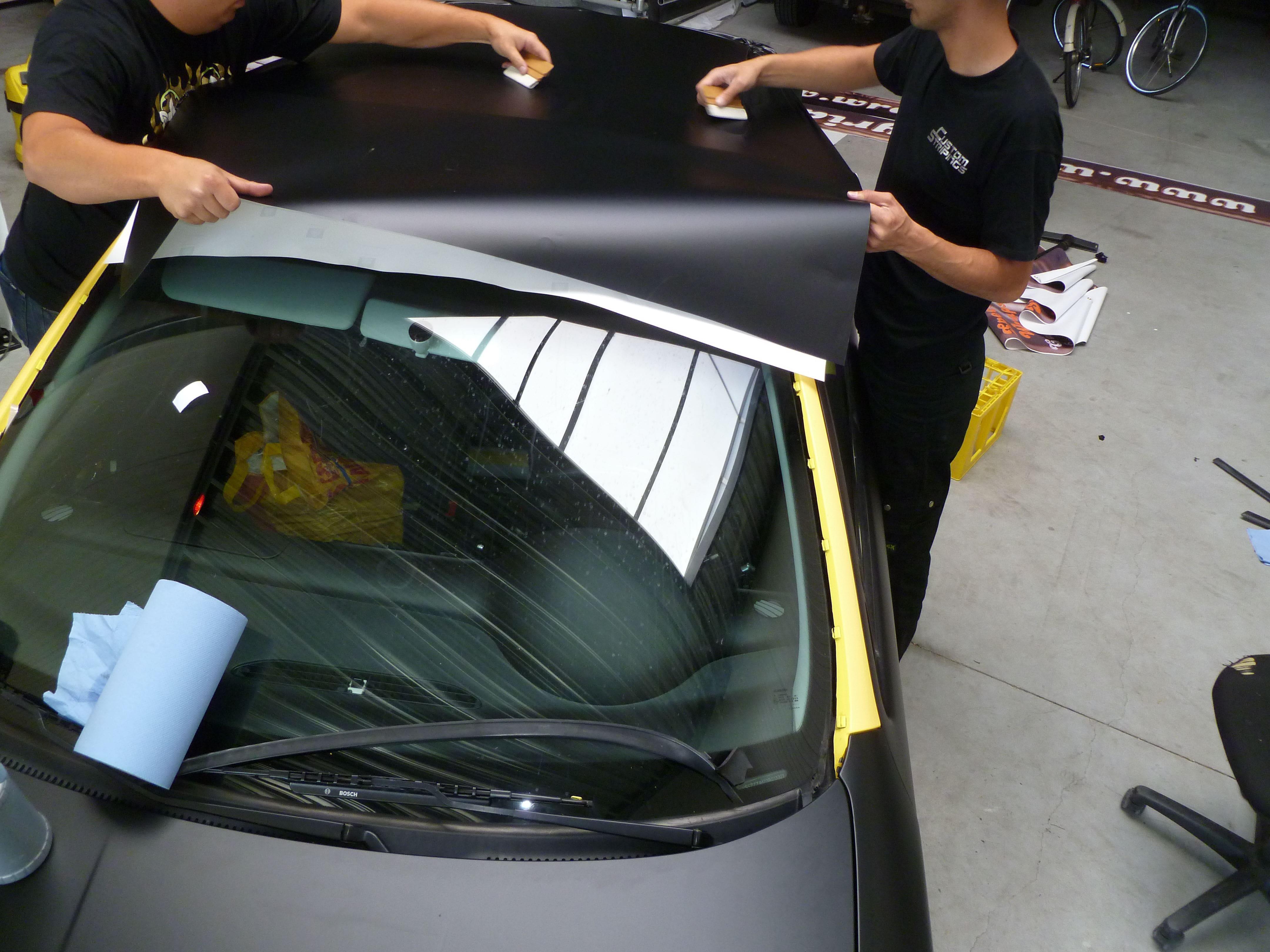 Seat Leon in Mat Zwarte Wrap, Carwrapping door Wrapmyride.nu Foto-nr:7189, ©2021