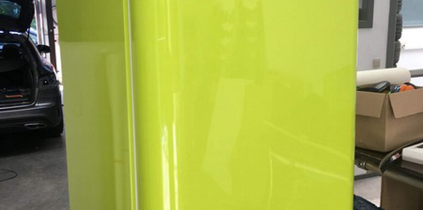 Smeg koelkast matte army green